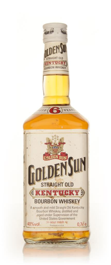 Golden Sun 6 Year Old Bourbon - 2000s Bourbon Whiskey