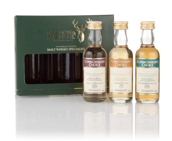Gordon and MacPhail Traditional Miniatures 3x5cl - Connoisseurs Choice Single Malt Whisky