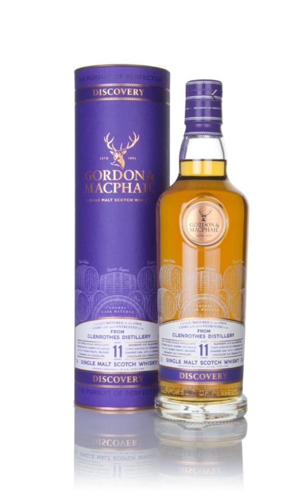 Glenrothes 11 Year Old - Discovery (Gordon & MacPhail) Single Malt Whisky