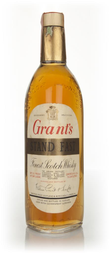 Grants Stand Fast - 1970s Blended Whisky