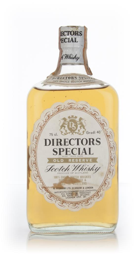 Directors Special Scotch 75cl - 1960s Blended Whisky