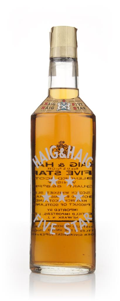 Haig & Haig Five Star - 1970s Blended Whisky