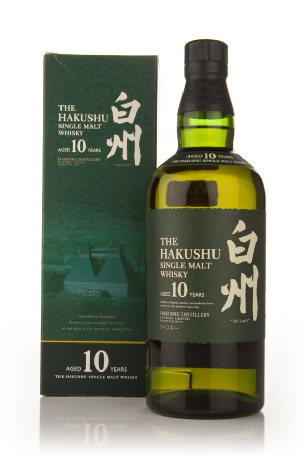 Hakushu 10 Year Old Single Malt Whisky