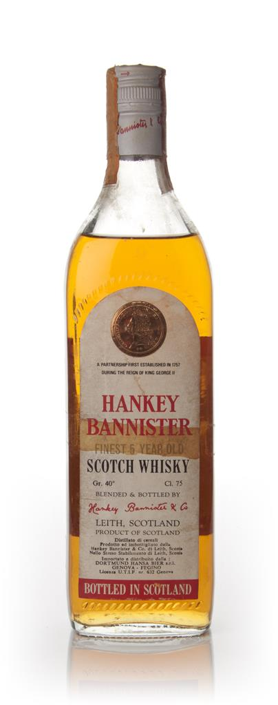 Hankey Bannister 5 Year Old - 1960s Blended Whisky