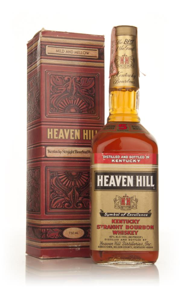 Heaven Hill 5 Year Old Kentucky Bourbon - 1980s Bourbon Whiskey