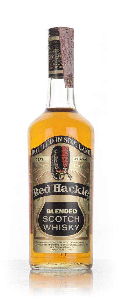 Red Hackle - 1960s Blended Whisky