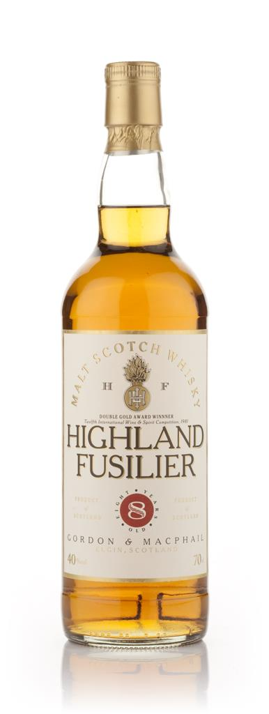 Highland Fusilier 8 Year Old Blended Whisky