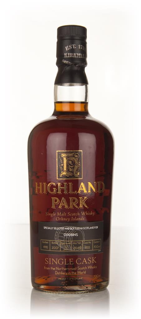 Highland Park 12 Year Old 1995 (Oddbins) Single Malt Whisky