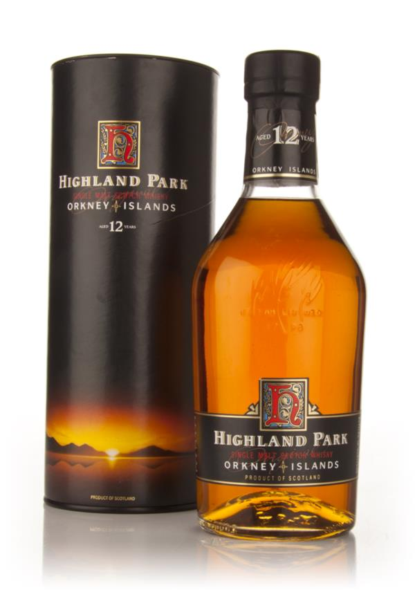 Highland Park 12 Year Old (Very Old Bottle) Single Malt Whisky