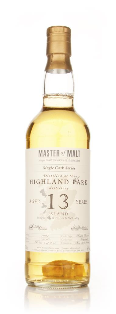 Highland Park 13 Year Old - Single Cask (Master of Malt) Single Malt Whisky