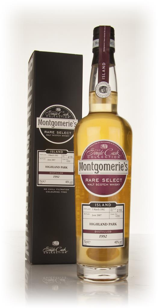 Highland Park 15 Year Old 1992 - Rare Select (Montgomeries) Single Malt Whisky
