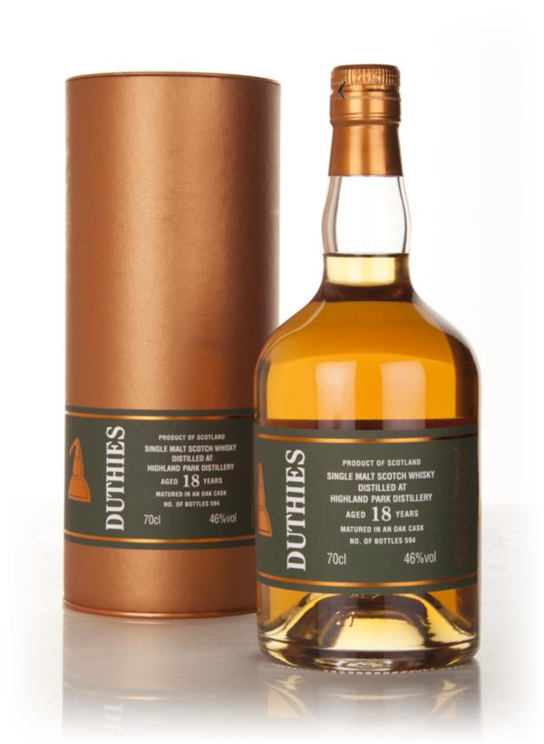 Highland Park 18 Year Old - Duthies (WM Cadenhead) Single Malt Whisky