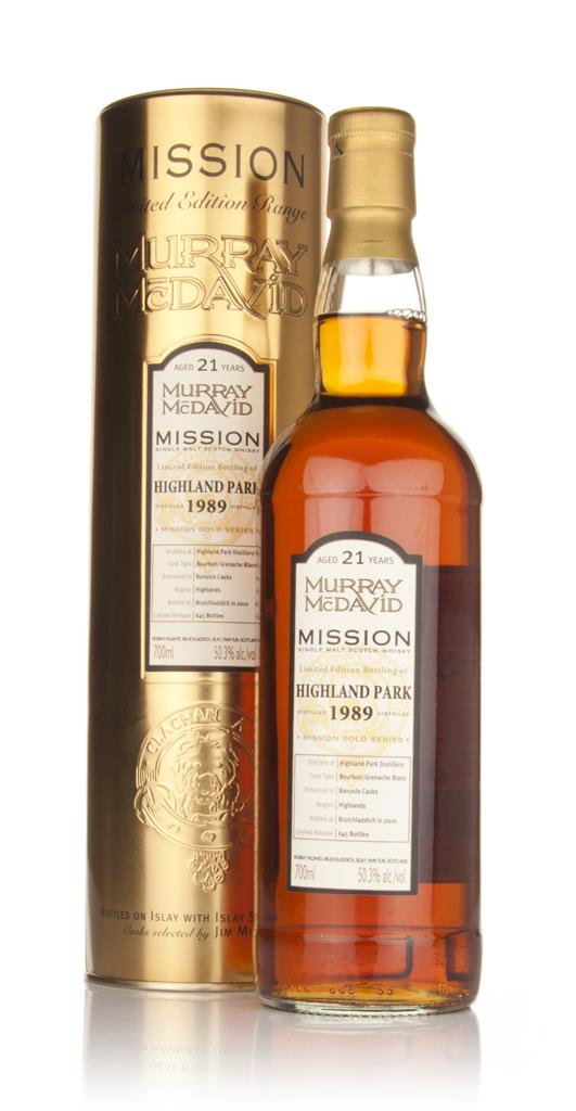 Highland Park 21 Year Old 1989 - Mission (Murray McDavid) Single Malt Whisky
