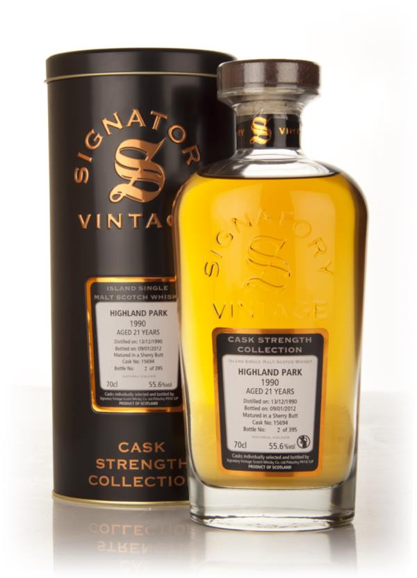 Highland Park 21 Year Old 1990 Cask 15694 - Cask Strength Collection ( Single Malt Whisky