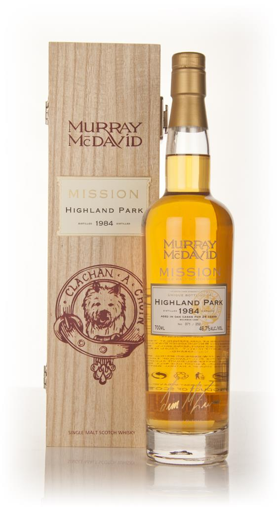 Highland Park 26 Year Old 1984 - Mission (Murray McDavid) Single Malt Whisky