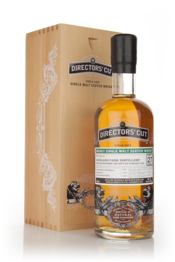 Highland Park 27 Year Old 1984 - Directors Cut (Douglas Laing) Single Malt Whisky