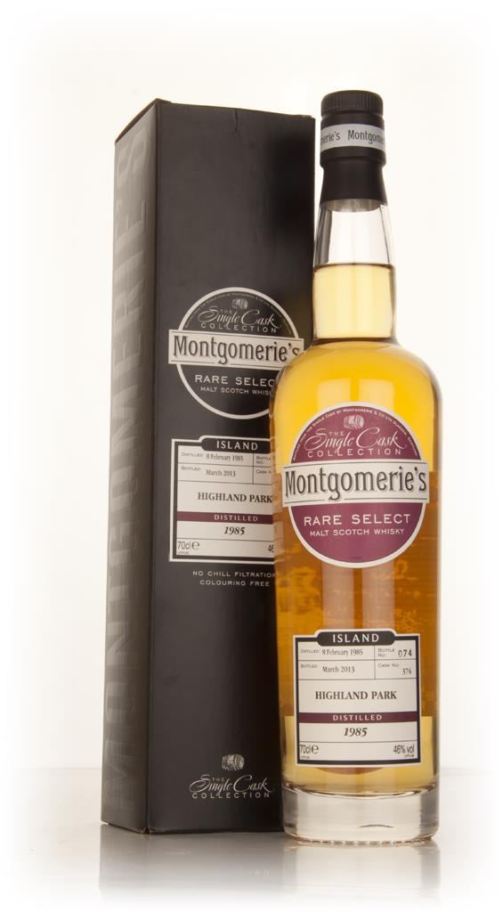Highland Park 28 Year Old 1985 (cask 374) - Rare Select (Montgomeries Single Malt Whisky