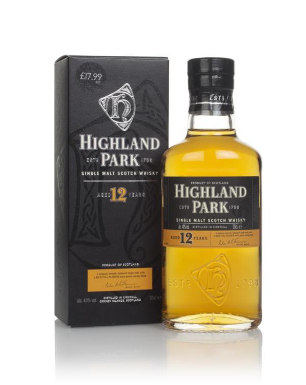 Highland Park 12 Year Old (35cl) Single Malt Whisky