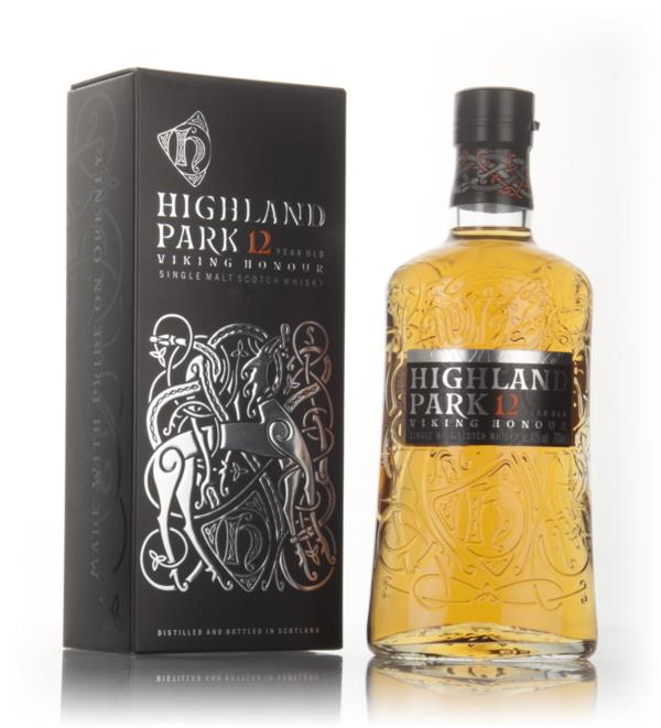 Highland Park 12 Year Old - Viking Honour Single Malt Whisky