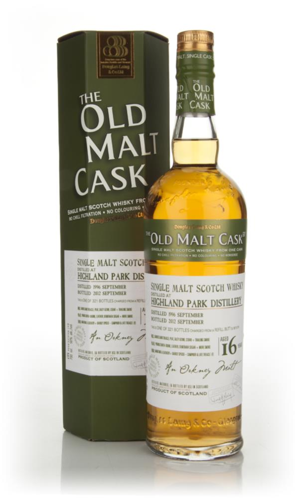 Highland Park 16 Years Old 1996 - Old Malt Cask (Douglas Laing) Single Malt Whisky