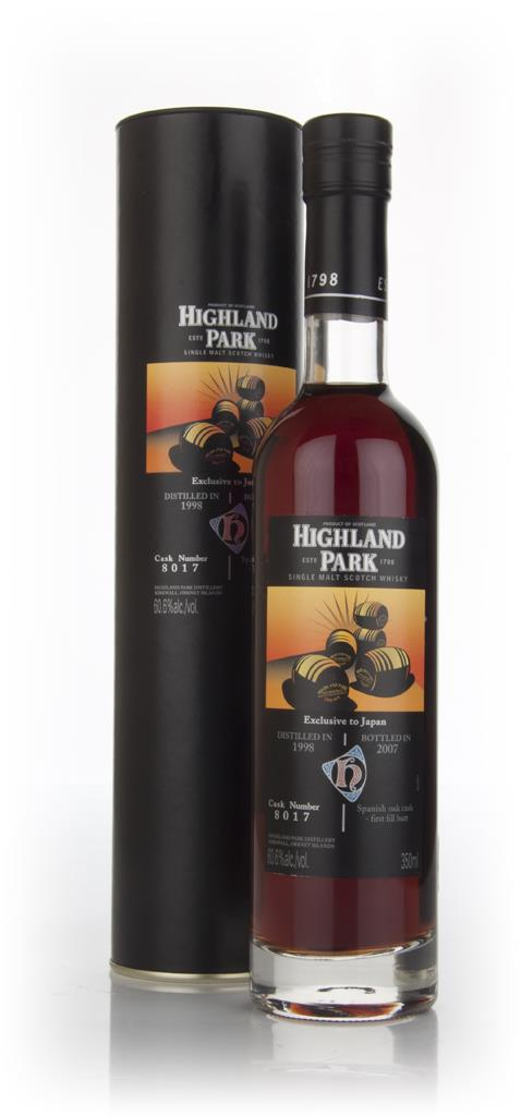Highland Park 1998 (cask 8017) - Japan Exclusive Single Malt Whisky