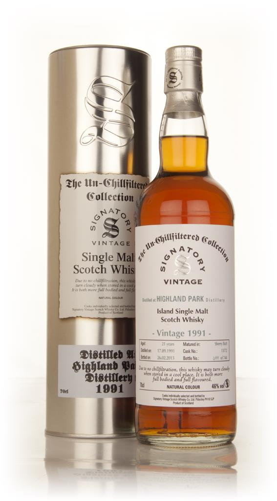 Highland Park 21 Year Old 1991 (cask 13/72) - Un-Chillfiltered Collect Single Malt Whisky