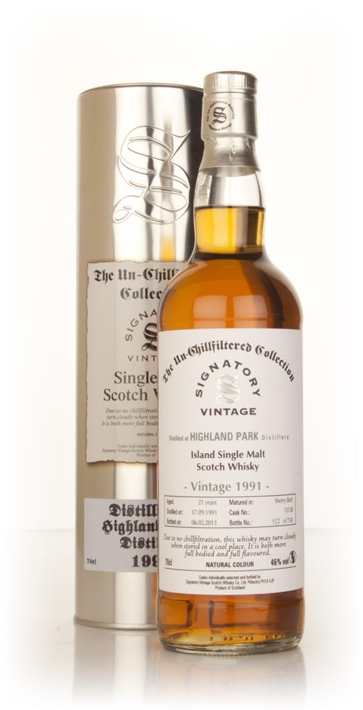 Highland Park 21 Year Old 1991 (cask 15128) - Un-Chillfiltered Collect Single Malt Whisky