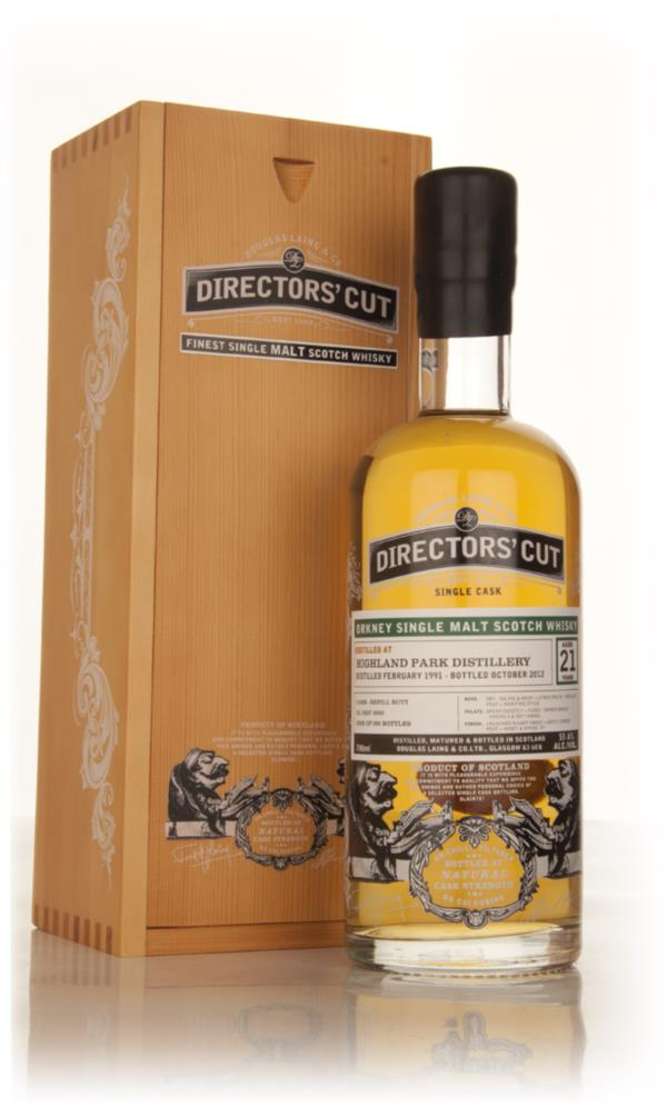 Highland Park 21 Year Old 1991 Cask 9200 - Directors Cut (Dounglas La Single Malt Whisky