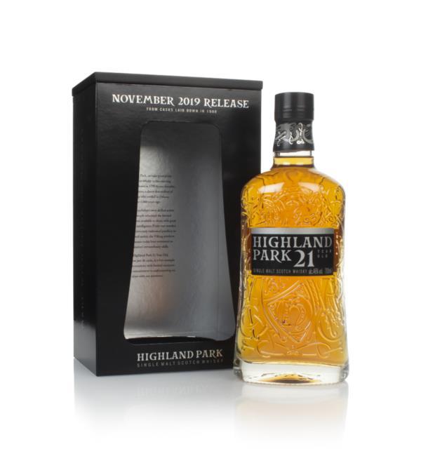 Highland Park 21 Year Old - November 2019 Release 3cl Sample Single Malt Whisky