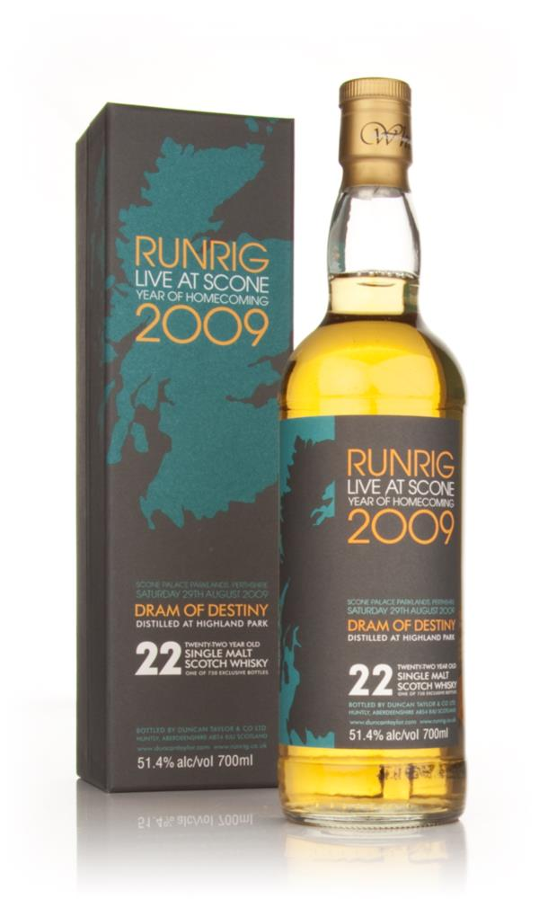 Highland Park 22 Year Old Runrig 2009 Dram of Destiny (Duncan Taylor) Single Malt Whisky