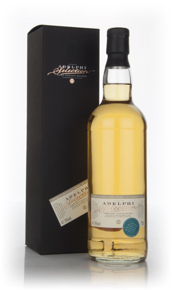 Highland Park 23 Year Old 1989 (cask 10518) (Adelphi) Single Malt Whisky