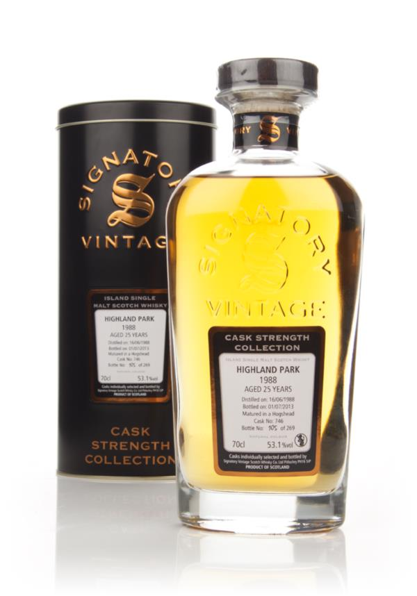 Highland Park 25 Year Old 1988 (cask 746) - Cask Strength Collection ( Single Malt Whisky