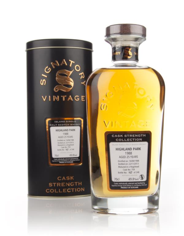 Highland Park 25 Year Old 1988 (cask 759) - Cask Strength Collection ( Single Malt Whisky