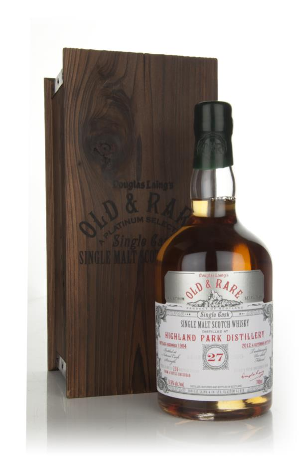 Highland Park 27 Year Old 1984 - Old and Rare (Douglas Laing) Single Malt Whisky