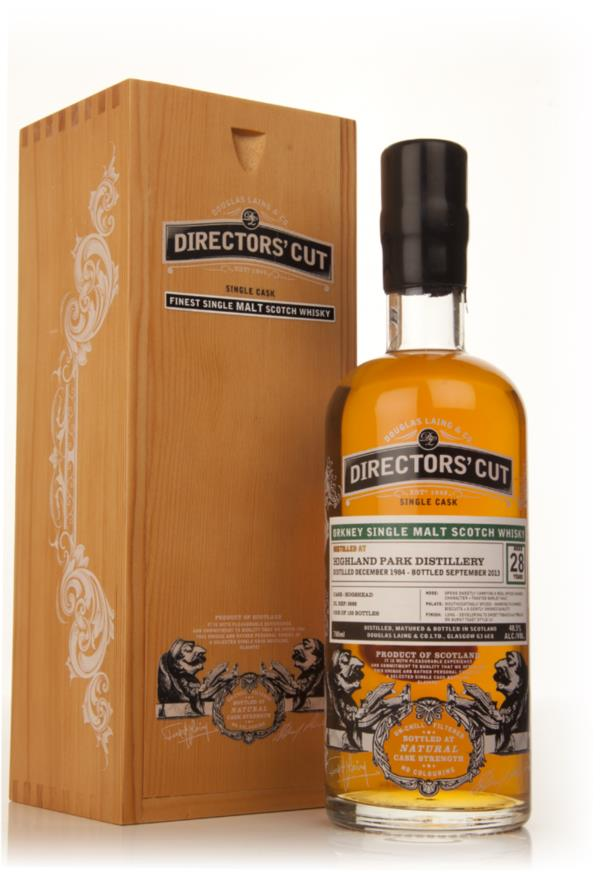 Highland Park 28 Year Old 1984 (cask 9968) - Director's Cut (Douglas L Single Malt Whisky
