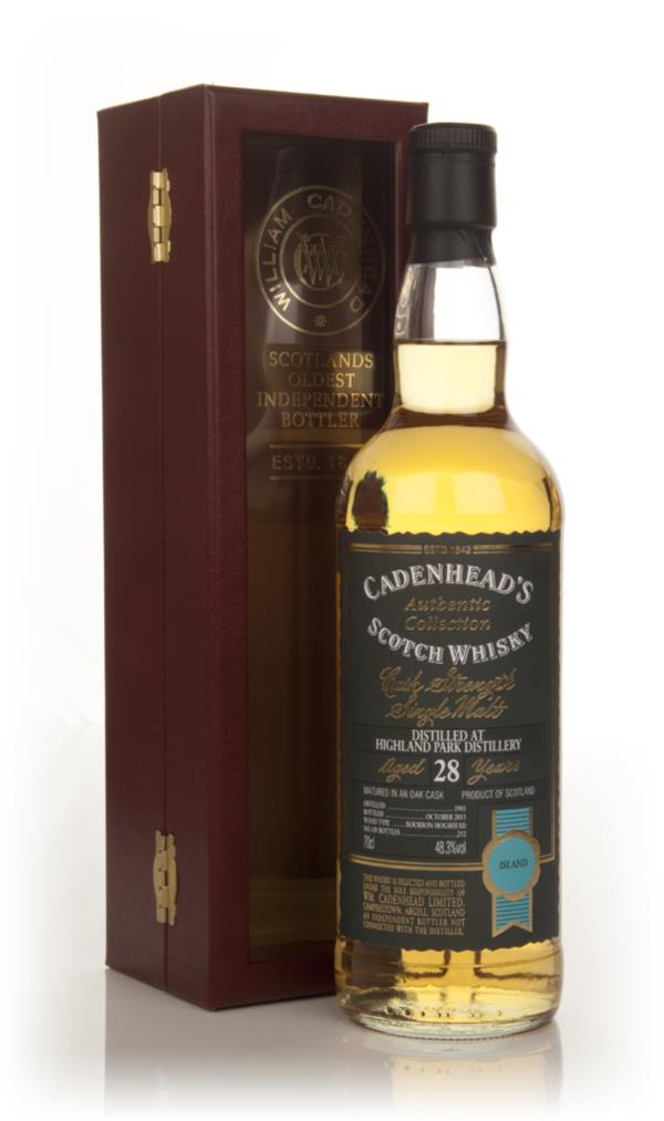 Highland Park 28 Year Old 1985 - Authentic Collection (WM Cadenhead) Blended Whisky