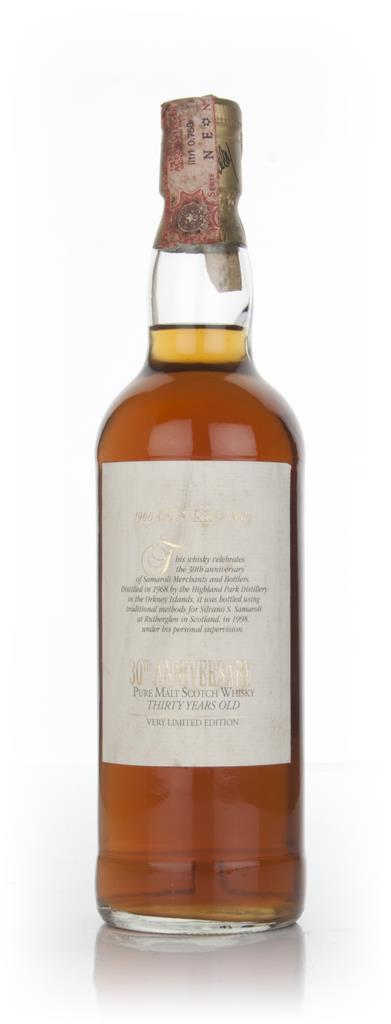 Highland Park 30 Year Old 1968 - Samaroli 30th Anniversary (Samaroli) Blended Malt Whisky