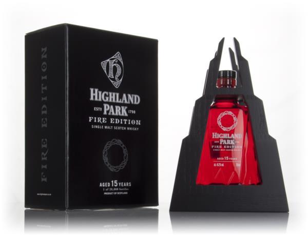 Highland Park Fire Edition 15 Year Old 3cl Sample Single Malt Whisky