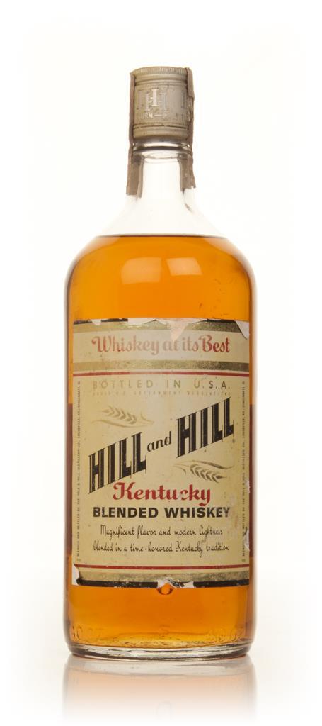 Hill & Hill - 1970s Blended Whiskey