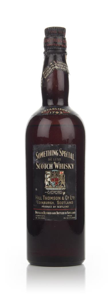 Something Special De Luxe Scotch Whisky - 1936-52 Blended Whisky