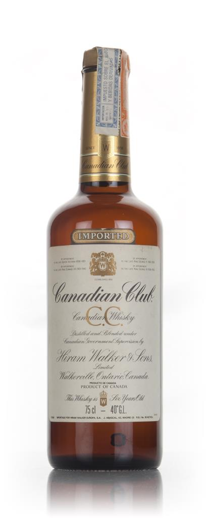 Canadian Club 6 Year Old Whisky - 1977 Blended Whiskey