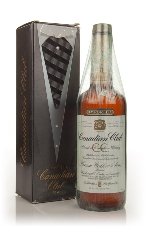 Canadian Club 6 Year Old Whisky - 1982 (with Presentation Box) Blended Whiskey