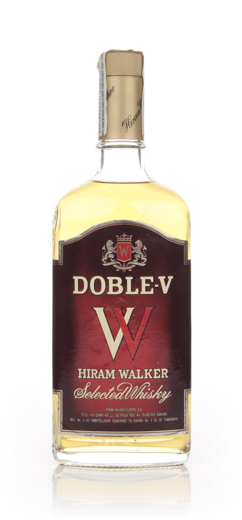 Hiram Walker's Doble-V Whisky - 1980s Blended Whiskey