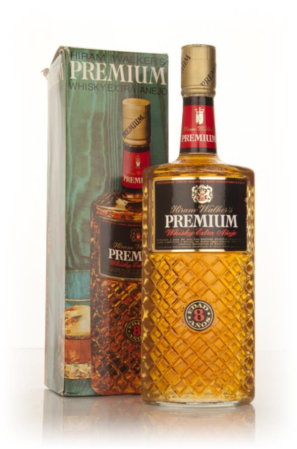 Hiram Walkers Premium Whisky Extra Anejo - 1960s Blended Whiskey