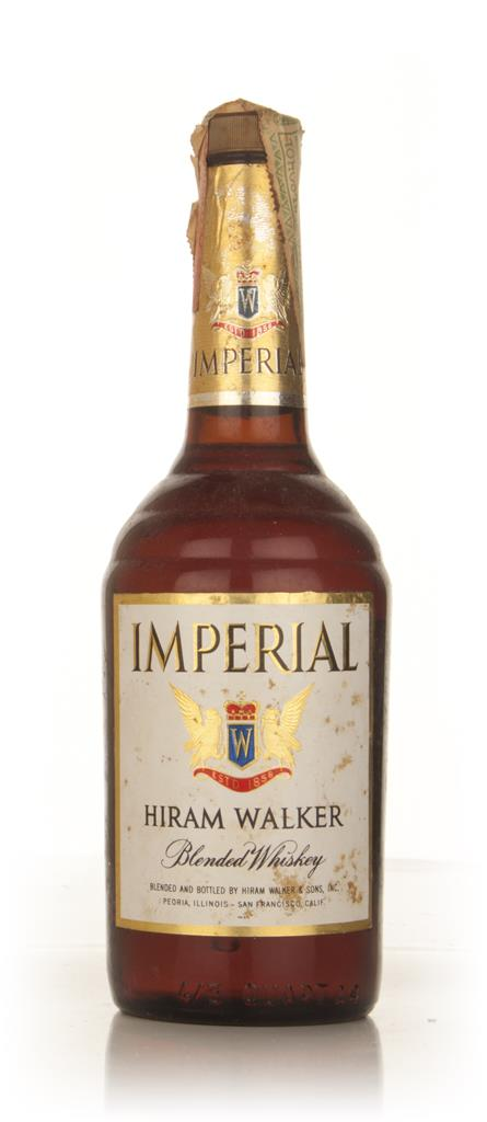 Hiram Walker Imperial Blended Whiskey - 1960s Blended Whiskey