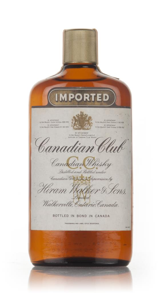 Canadian Club 6 Year Old Whisky - 1967 Blended Whiskey