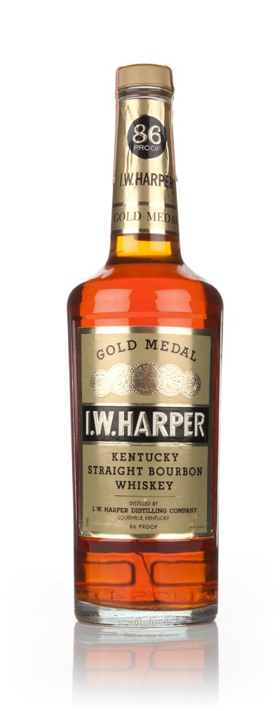 I. W. Harper Gold Medal Straight Bourbon - 1970s Bourbon Whiskey