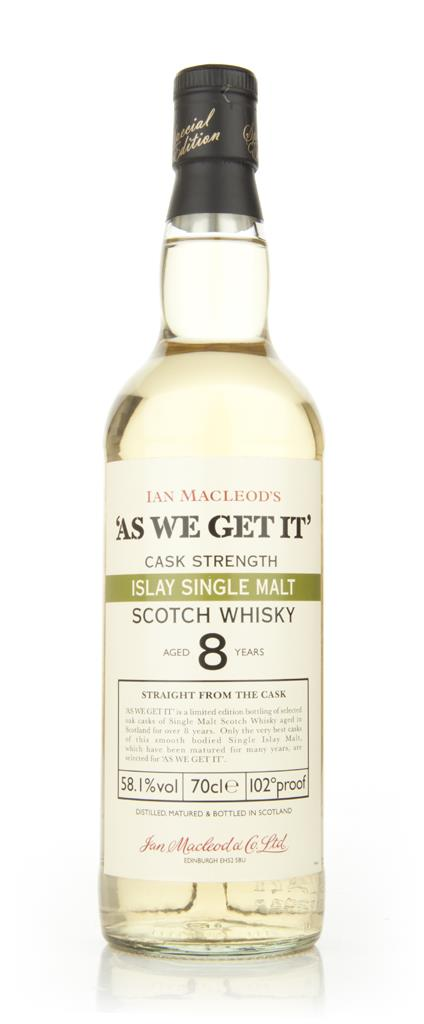 Islay 8 Year Old - As We Get It (Ian Macleod) Single Malt Whisky