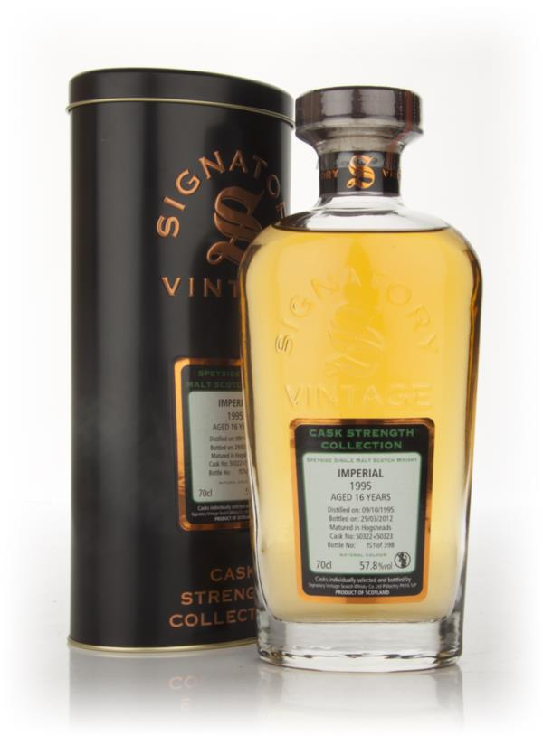 Imperial 16 Year Old 1995 - Cask Strength Collection (Signatory) Single Malt Whisky