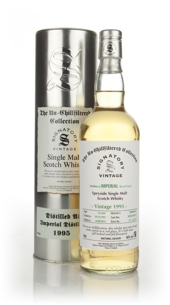 Imperial 16 Year Old 1995 - Un-Chillfiltered (Signatory) Single Malt Whisky